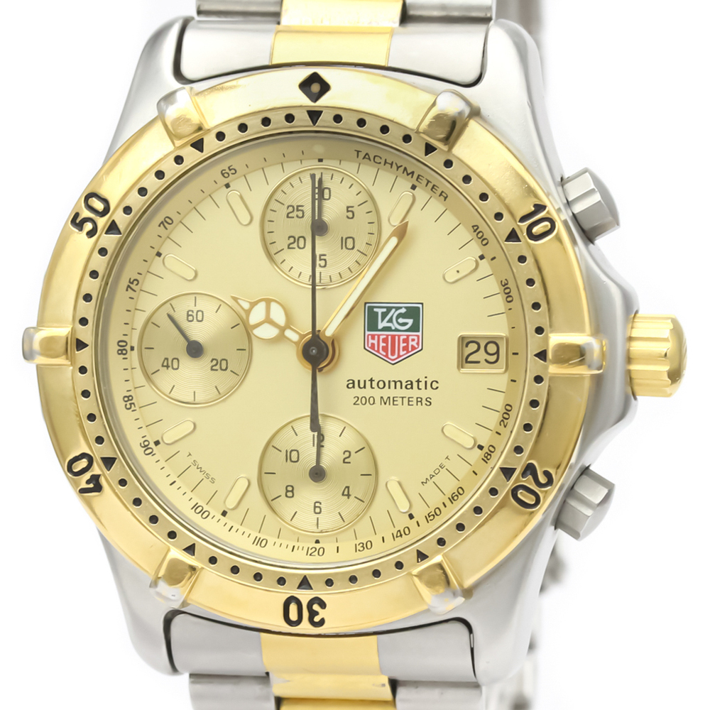 Tag Heuer Professional Quartz Gold Plated,Stainless Steel Men's Sports Watch 765.406