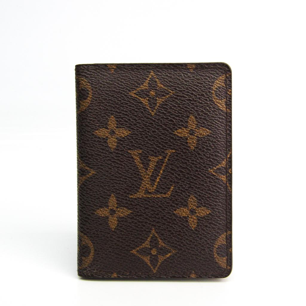 ルイ・ヴィトン(Louis Vuitton) モノグラム ポルトカルト・パス  ヴェルティカル M66541 モノグラム 名刺入れ モノグラム