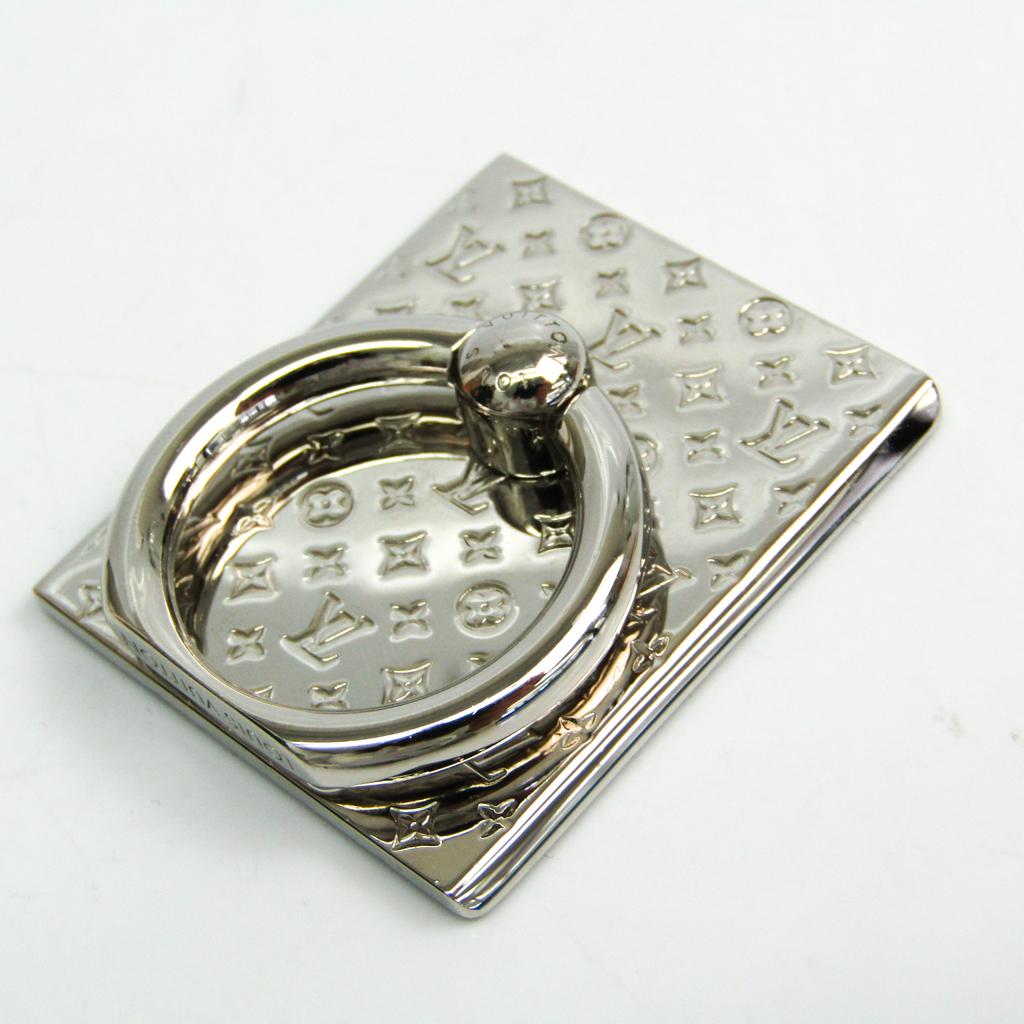 ルイ・ヴィトン(Louis Vuitton) メタル アクセサリー シルバー サポート・テレフォン ナノグラム M67285