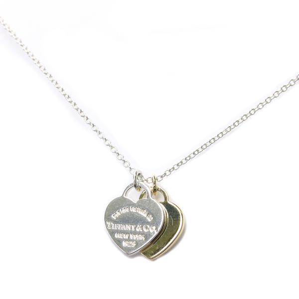 Tiffany Return To Tiffany Silver 925,Yellow Gold (18K) Men,Women Pendant Necklace