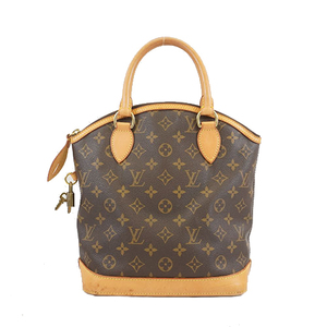 Auth Louis Vuitton Monogram Handbag Lock It Women's Handbag Monogram