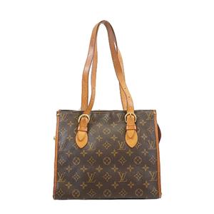 Auth Louis Vuitton Monogram M40007 Women's Tote Bag Monogram