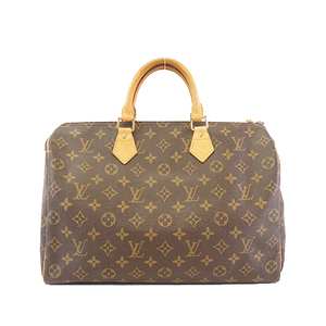 Auth Louis Vuitton Monogram Speedy35 M41107 Women's Handbag