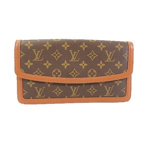 Auth Louis Vuitton Monogram M51812 Men's Clutch Bag