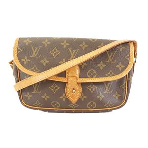 Auth Louis Vuitton Monogram Gibesiere PM M42248 Women's Shoulder Bag