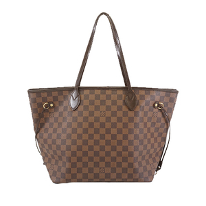Auth Louis Vuitton Damier Neverfull MM N51105 Women's Tote Bag