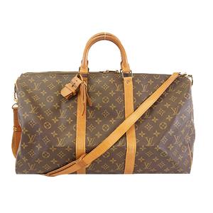 Louis Vuitton Monogram キーポルバンドリエール50 Keepall Bandouliere 50 M41416 Men,Women,Unisex Boston Bag Monogram