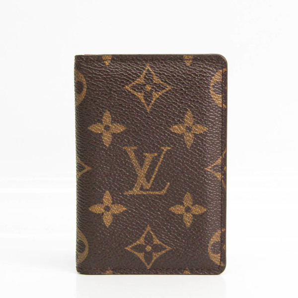 Louis Vuitton Monogram Pocket Organizer M61732 Monogram Card Case Monogram