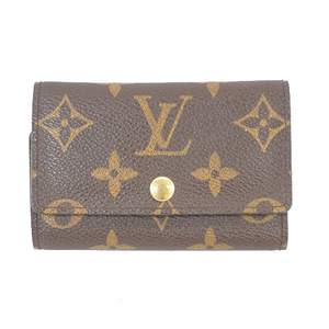 Auth Louis Vuitton Monogram Multicles6 M62630 Men,Women,Unisex  Key Case