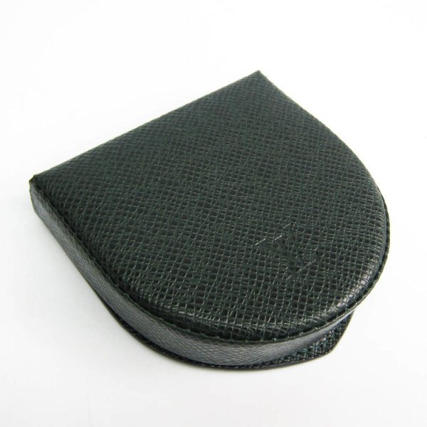 Louis Vuitton Taiga Porte-monnaie Cuvettet M30374 Men's Taiga Leather Coin Purse/coin Case Episea