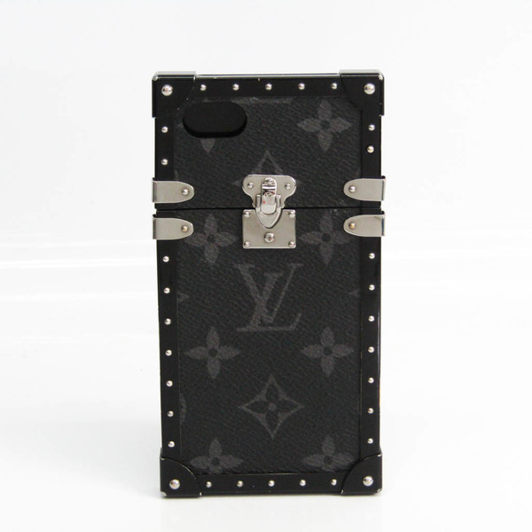 Louis Vuitton Monogram Eclipse Monogram Eclipse Phone Bumper For IPhone 7 Monogram Eclipse Eye-Trunk For iPhone 7 M64489