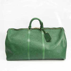 Louis Vuitton Epi Keepall 55 M42954 Women's Boston Bag Borneo Green