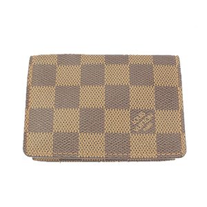 Auth Louis Vuitton Monogram M62920  Card Case