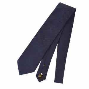 ルイ・ヴィトン(Louis Vuitton) メンズ ネクタイ シルク ブラック,ブルー