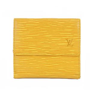 ルイヴィトン 三つ折り財布 エピ ポルトモネビエカルトクレディ M63489