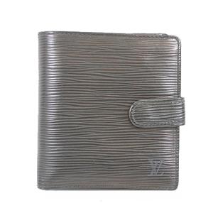 ルイヴィトン 二つ折り財布 エピ ポルトビエコンパクト M63552