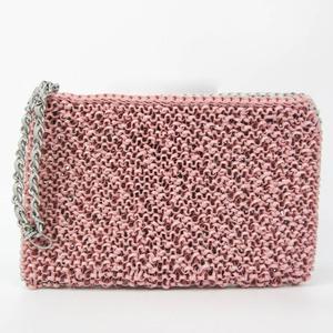 アンテプリマ(Anteprima) レディース PVC クラッチバッグ グレー,ピンク