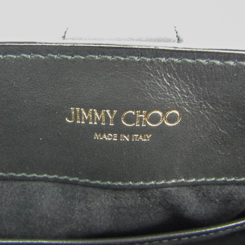 ジミーチュウ(Jimmy Choo) LOCKETT レディース レザー ハンドバッグ ブラック
