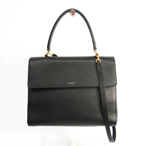 Saint Laurent 355156 Women's Leather Handbag,Shoulder Bag Black