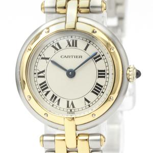 カルティエ(Cartier) パンテール・デ・カルティエ クォーツ ステンレススチール(SS),K18イエローゴールド(K18YG) レディース ドレスウォッチ -