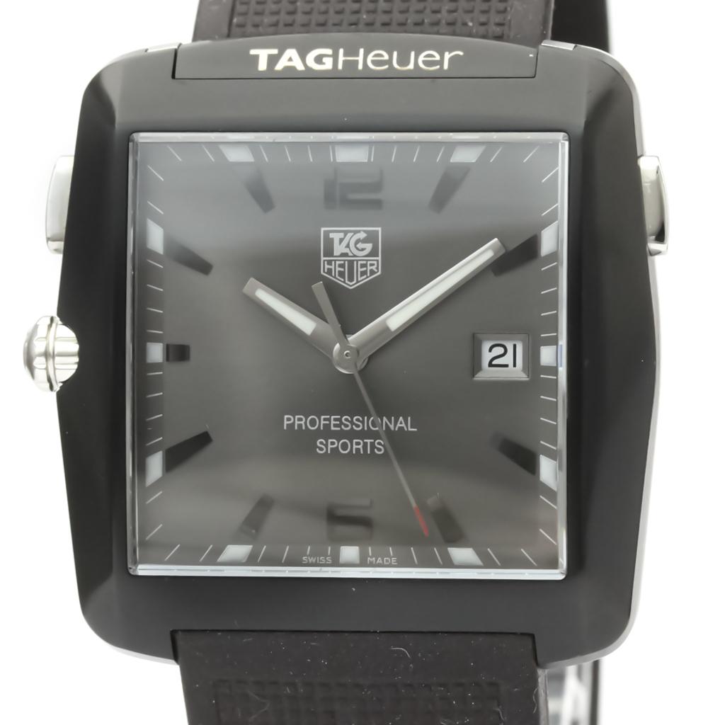 Tag Heuer Professional Quartz Stainless Steel Men's Sports Watch WAE1113