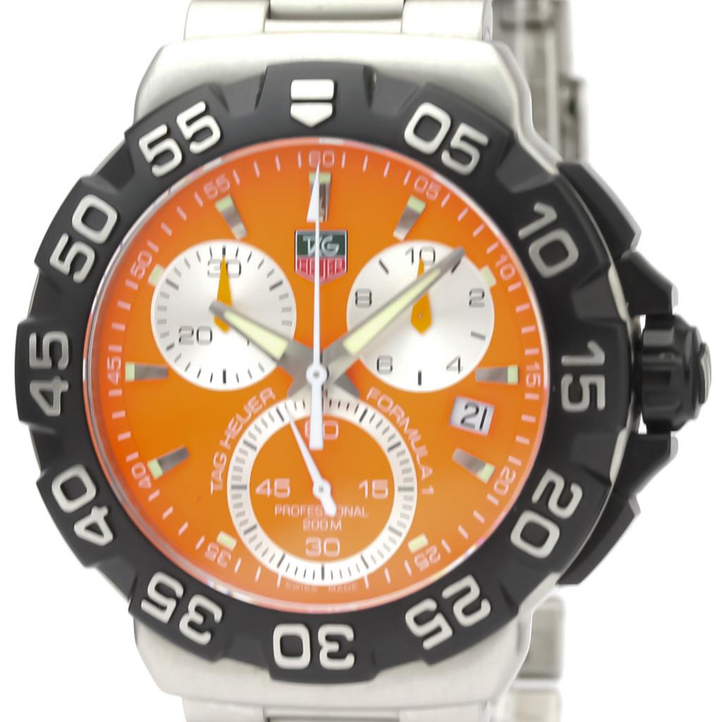 TAG HEUER Formula 1 Chronograph Steel Quartz Watch CAH1113