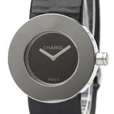 【CHANEL】シャネル ラ・ロンド ステンレススチール レザー クォーツ レディース 時計 H0579