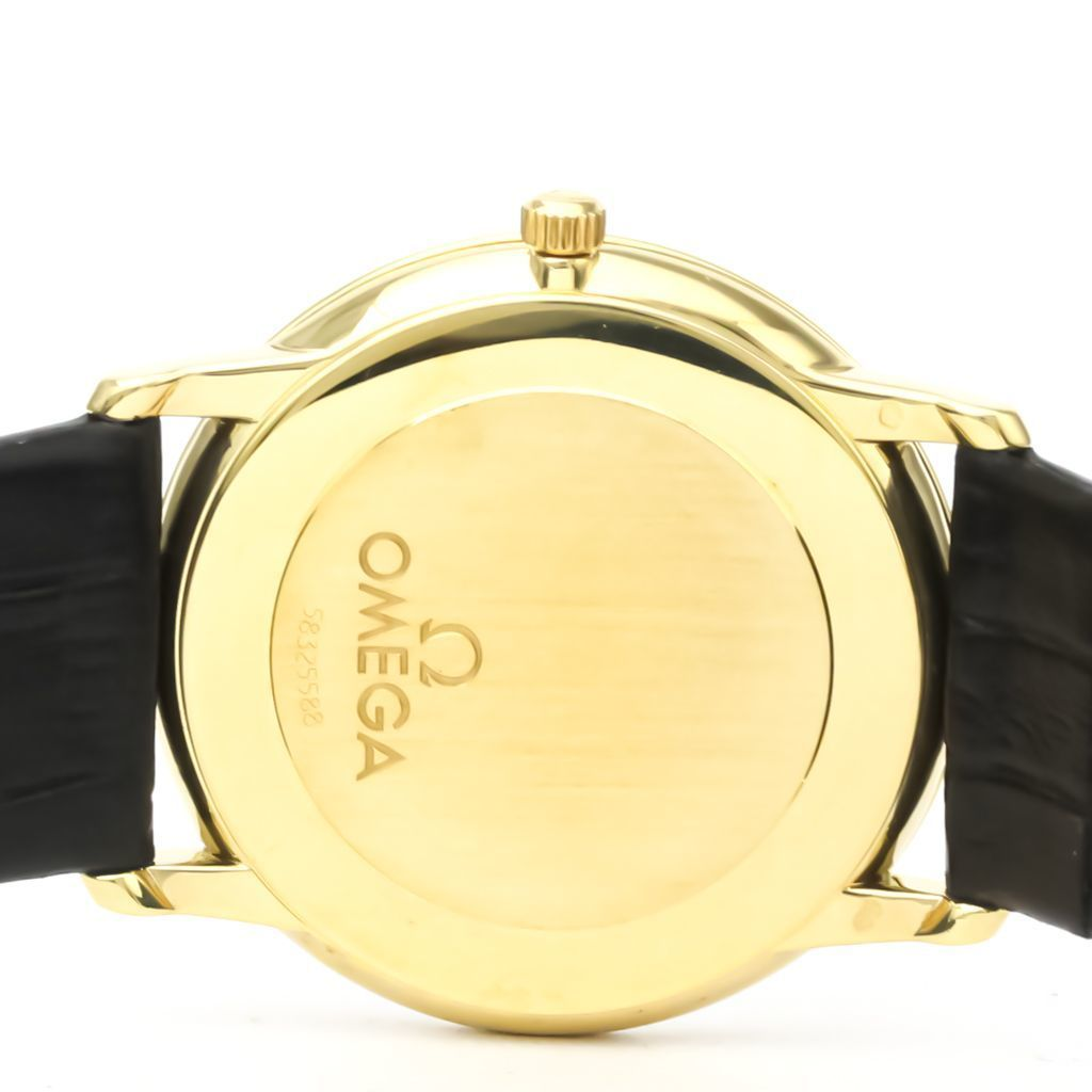 Omega De Ville Quartz Yellow Gold (18K) Men's Dress Watch 4610.30.02