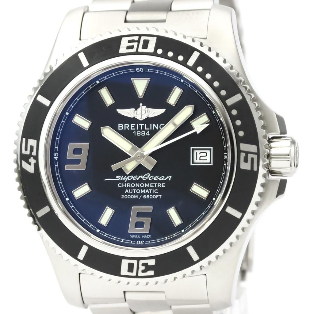 【BREITLING】ブライトリング スーパーオーシャン 44 ステンレススチール 自動巻き メンズ 時計 A17391