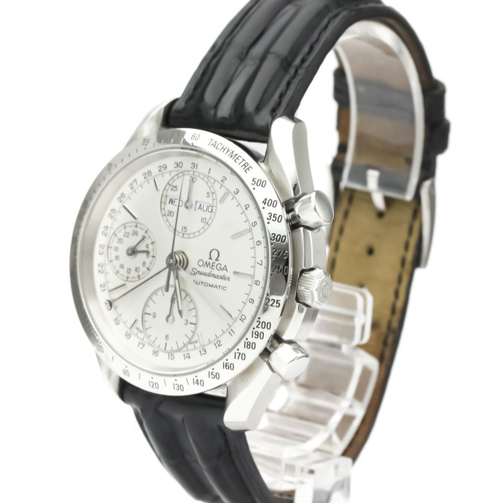 Omega Speedmaster Automatic Stainless Steel Men's Sports Watch 3521.30