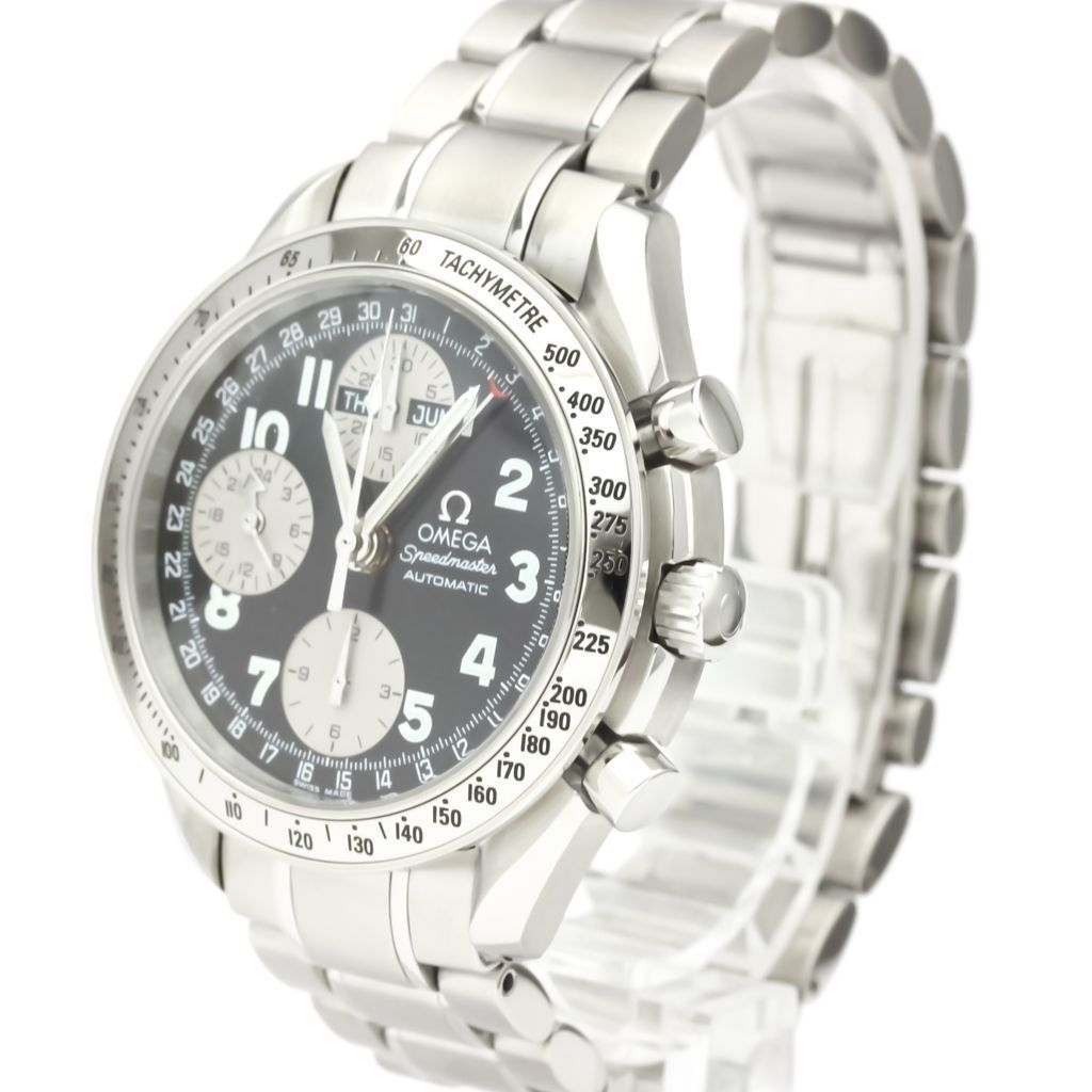 OMEGA Speedmaster Triple Date Steel Automatic Watch 3523.51