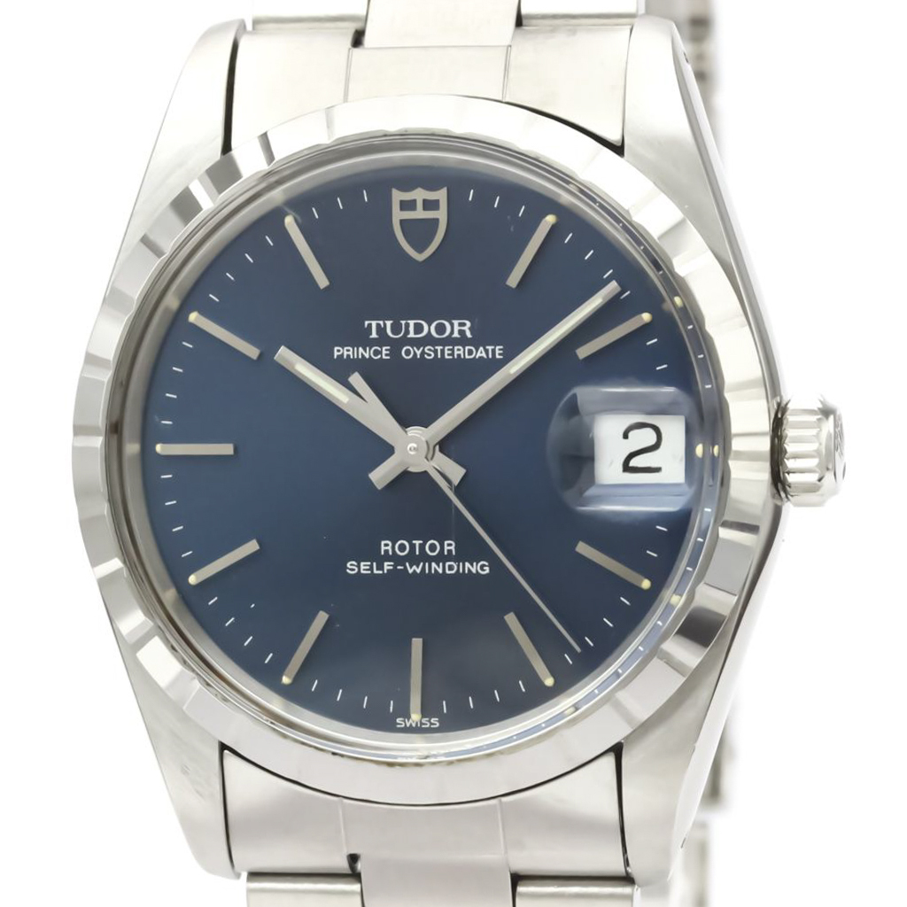 Tudor Prince Oyster Date Automatic Stainless Steel Men's Dress Watch 74020