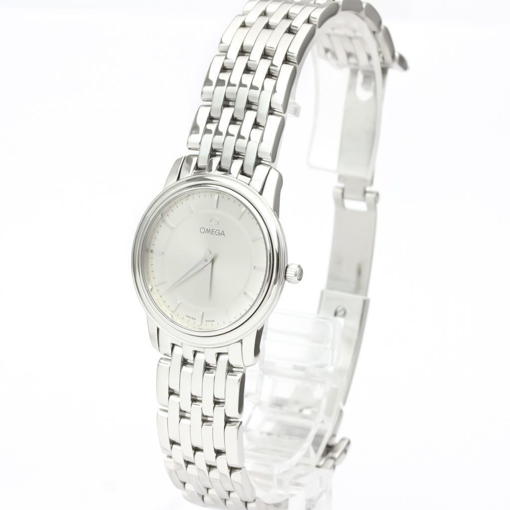 Omega De Ville Quartz Stainless Steel Women's Dress Watch 4570.31