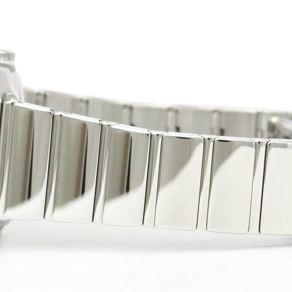 Omega Constellation Quartz Stainless Steel Women's Dress Watch 123.10.27.60.55.002