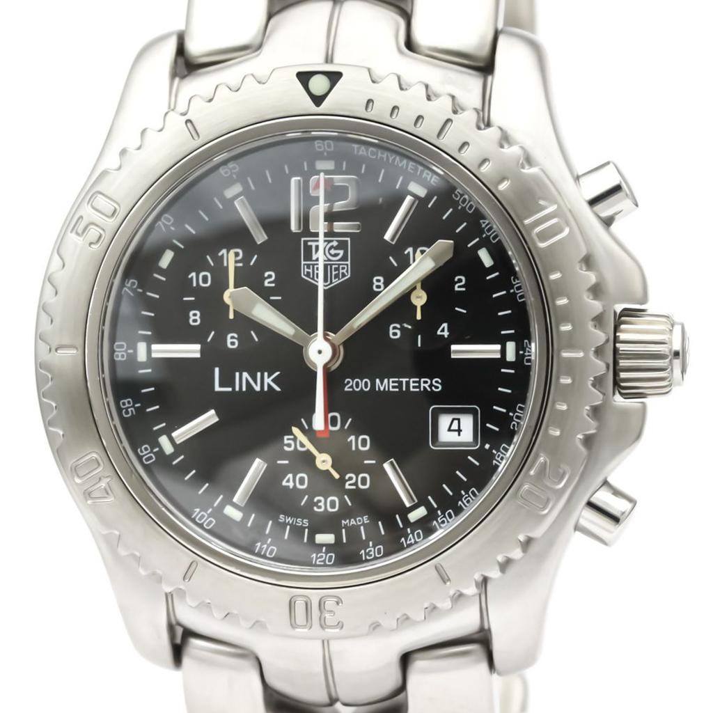 TAG HEUER Link Chronograph Jason Bourne Steel Watch CT1111