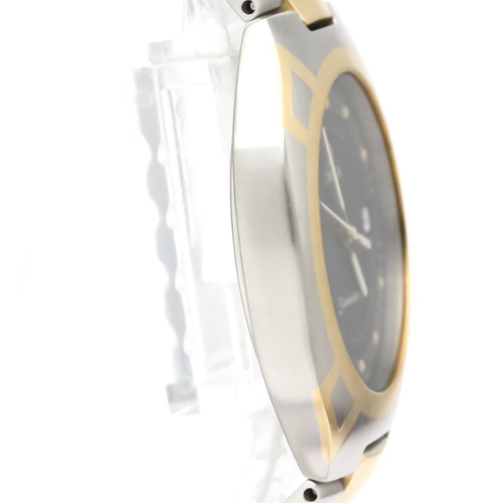 【OMEGA】オメガ シーマスター K18 ポラリス ゴールド ステンレススチール クォーツ メンズ 時計 396.1022