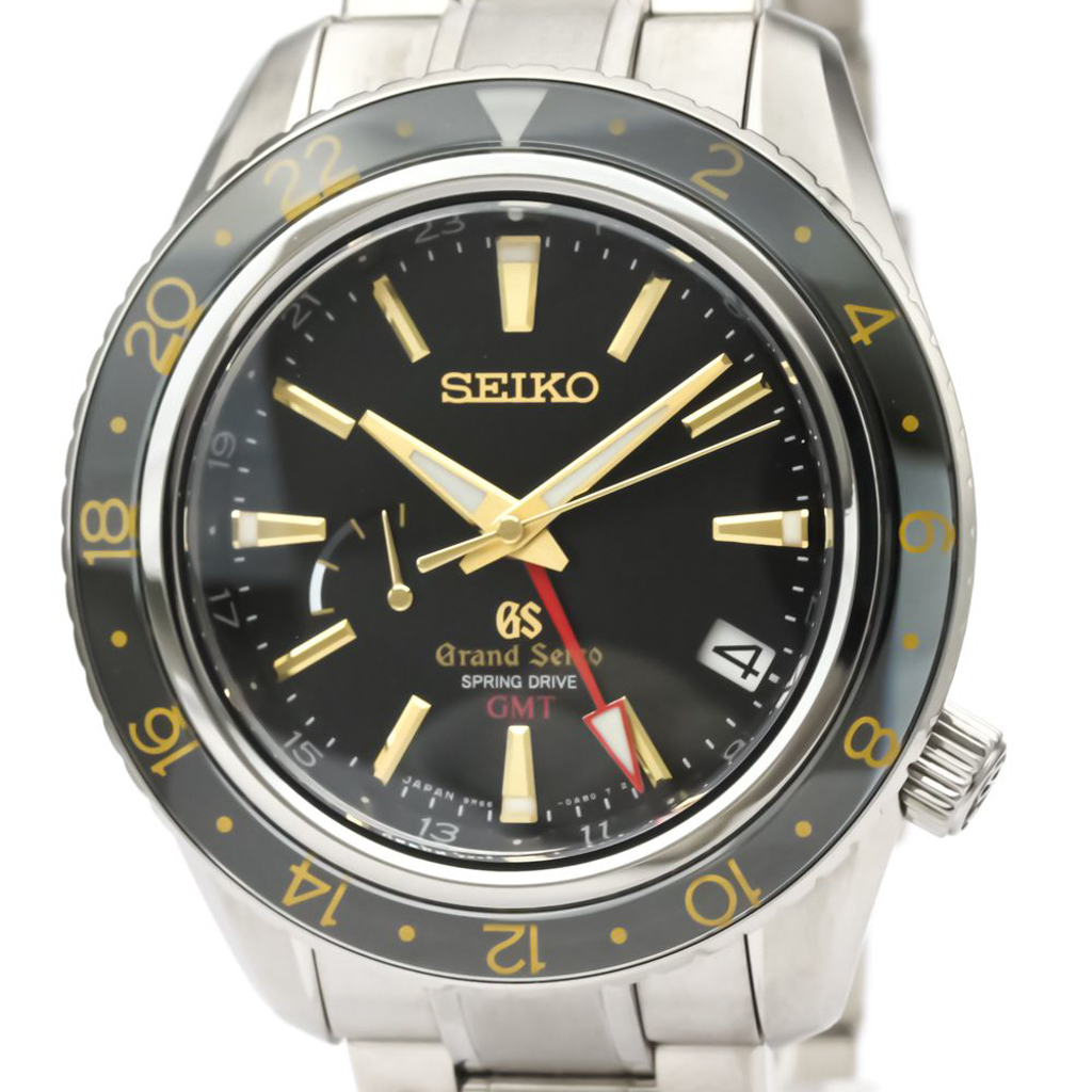 セイコー(Seiko) グランドセイコー スプリングドライブ チタン メンズ スポーツウォッチ SBGE015(9R66-0AF0)