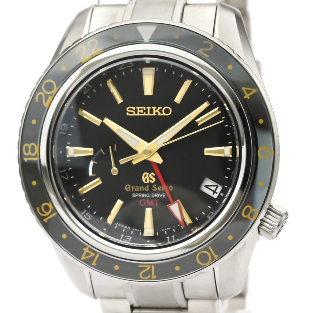 Seiko Grand Seiko Spring Drive Titanium Men's Sports Watch SBGE015(9R66-0AF0)