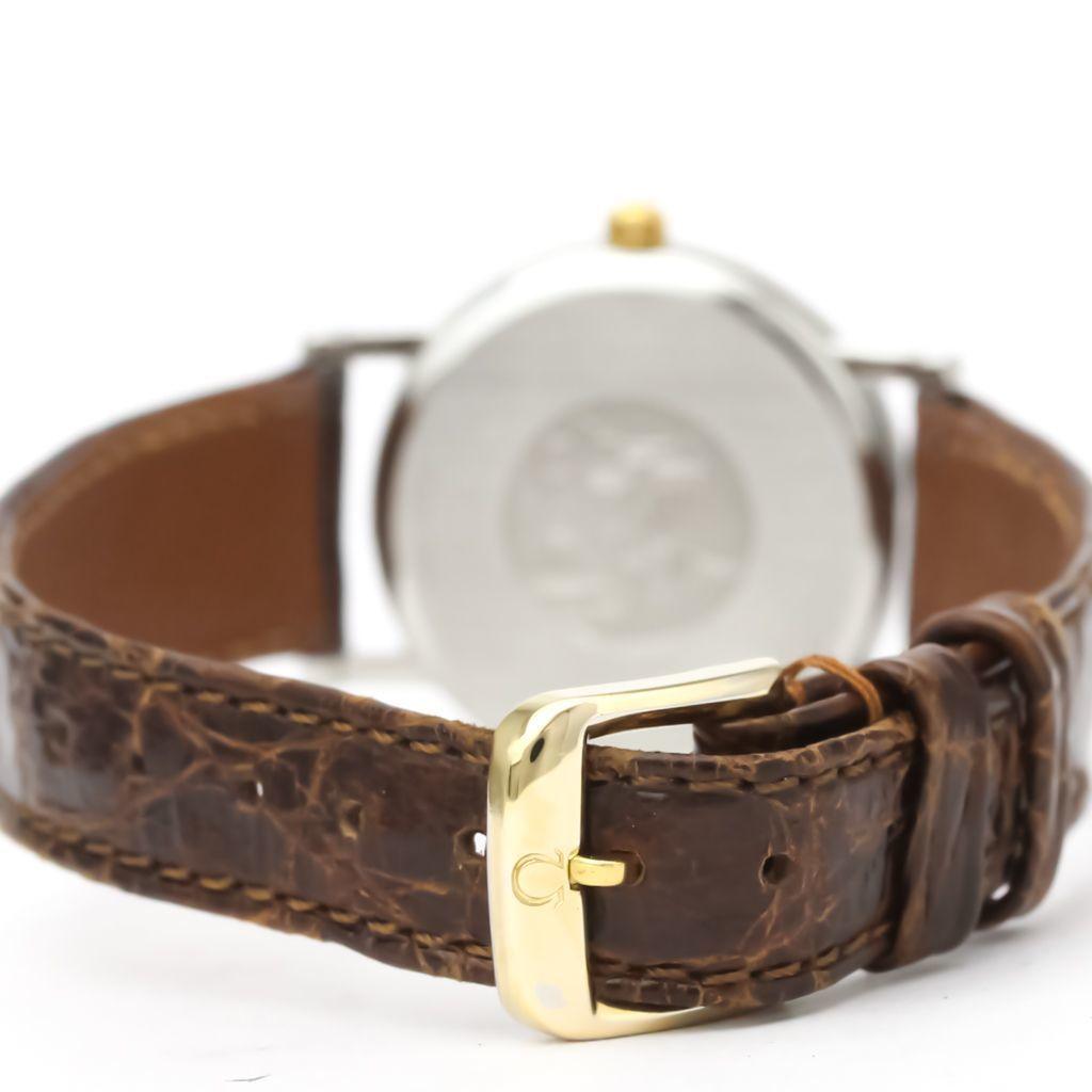 Omega De Ville Quartz Stainless Steel,Yellow Gold (18K) Women's Dress Watch 7480.11.40