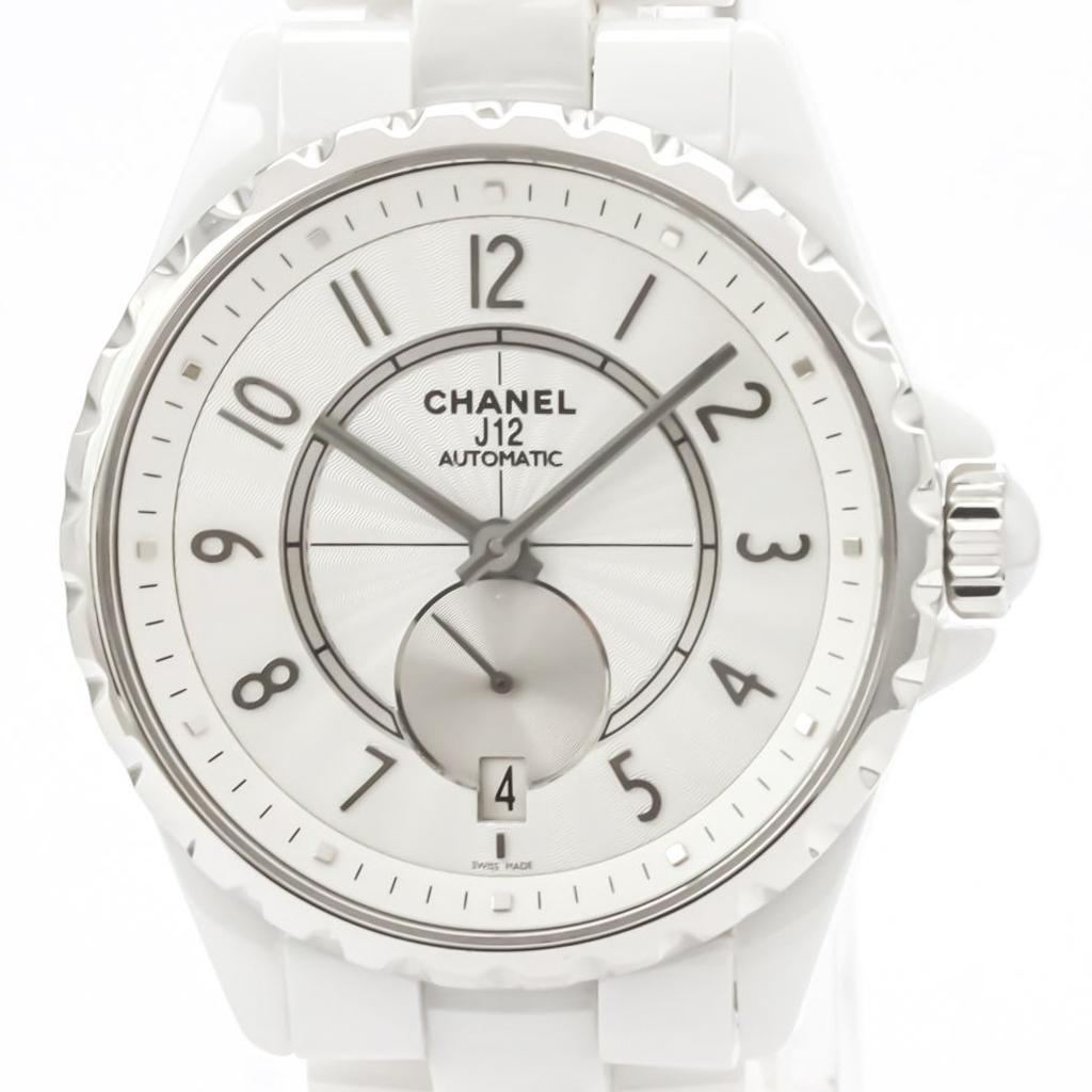 Chanel J12 Automatic Ceramic Men's Sports Watch H3837