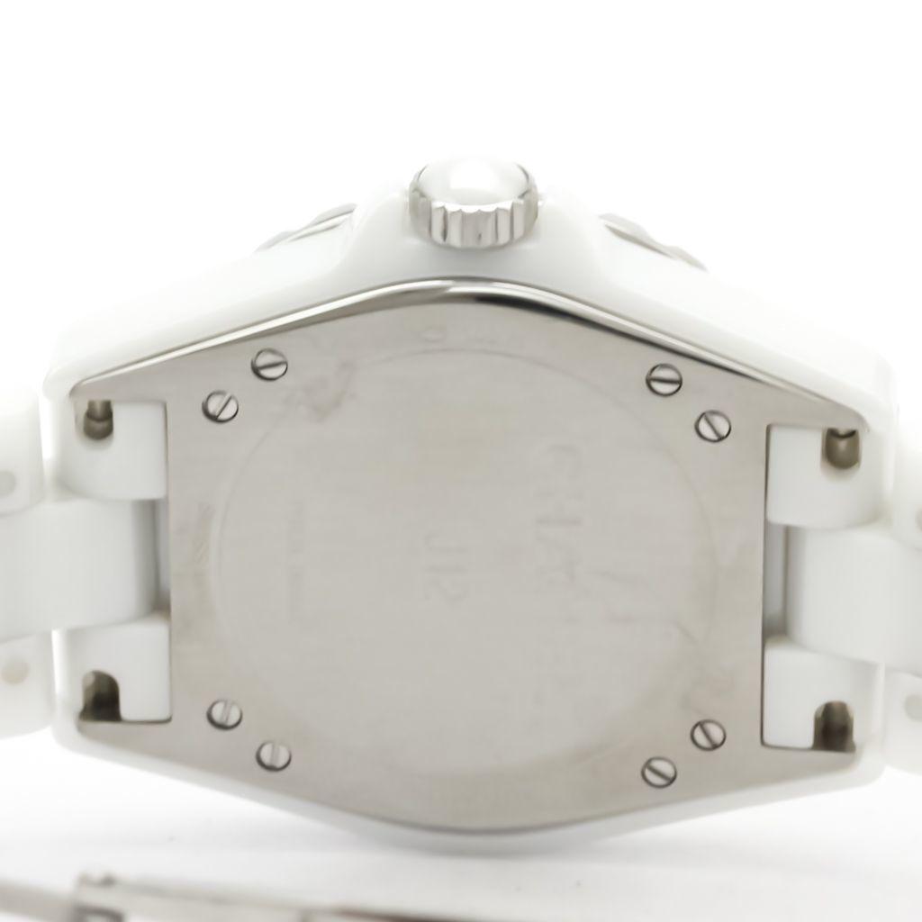シャネル(Chanel) J12 自動巻き セラミック メンズ スポーツウォッチ H3837