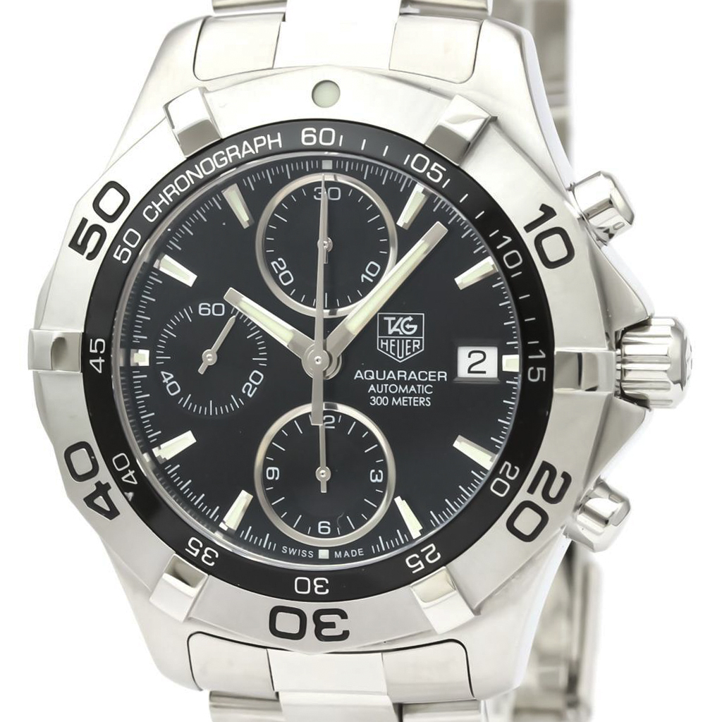 Tag Heuer Aquaracer Automatic Stainless Steel Men's Sports Watch CAF2110