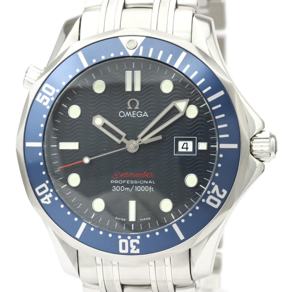 【OMEGA】オメガ シーマスター プロフェッショナル 300M ステンレススチール クォーツ メンズ 時計 2221.80