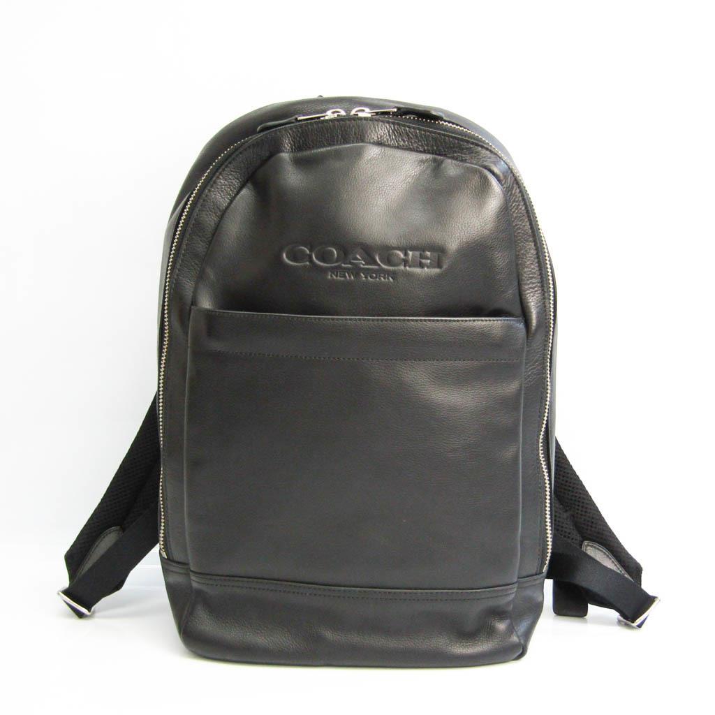 Coach F54135 Men's Leather Backpack Black