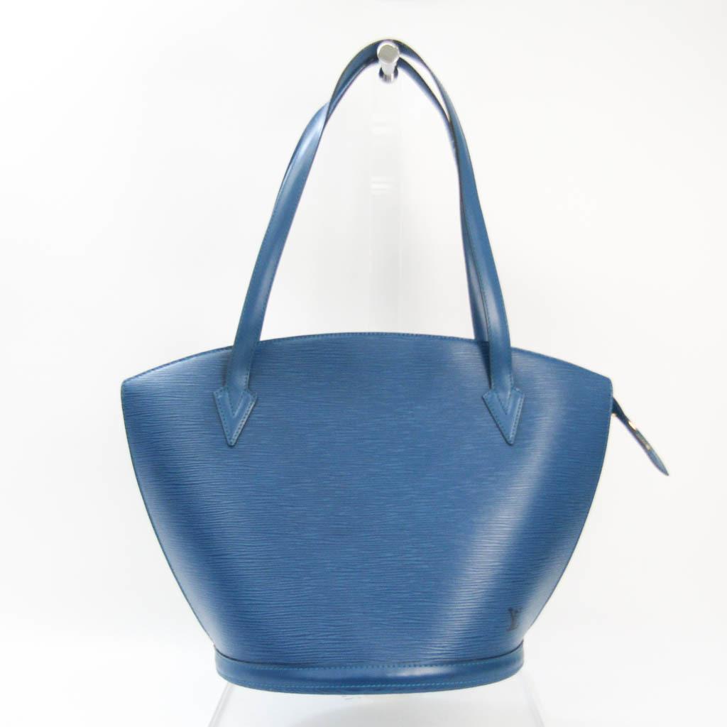 Louis Vuitton Epi Saint Jacques Shopping M52265 Women's Shoulder Bag Toledo Blue
