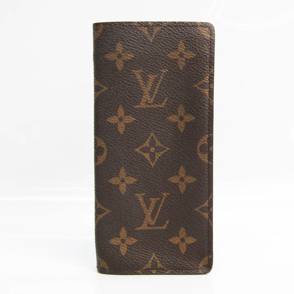 Louis Vuitton Monogram Simple Eyeglasses Case Soft Eyeglass Case (Monogram) M62962