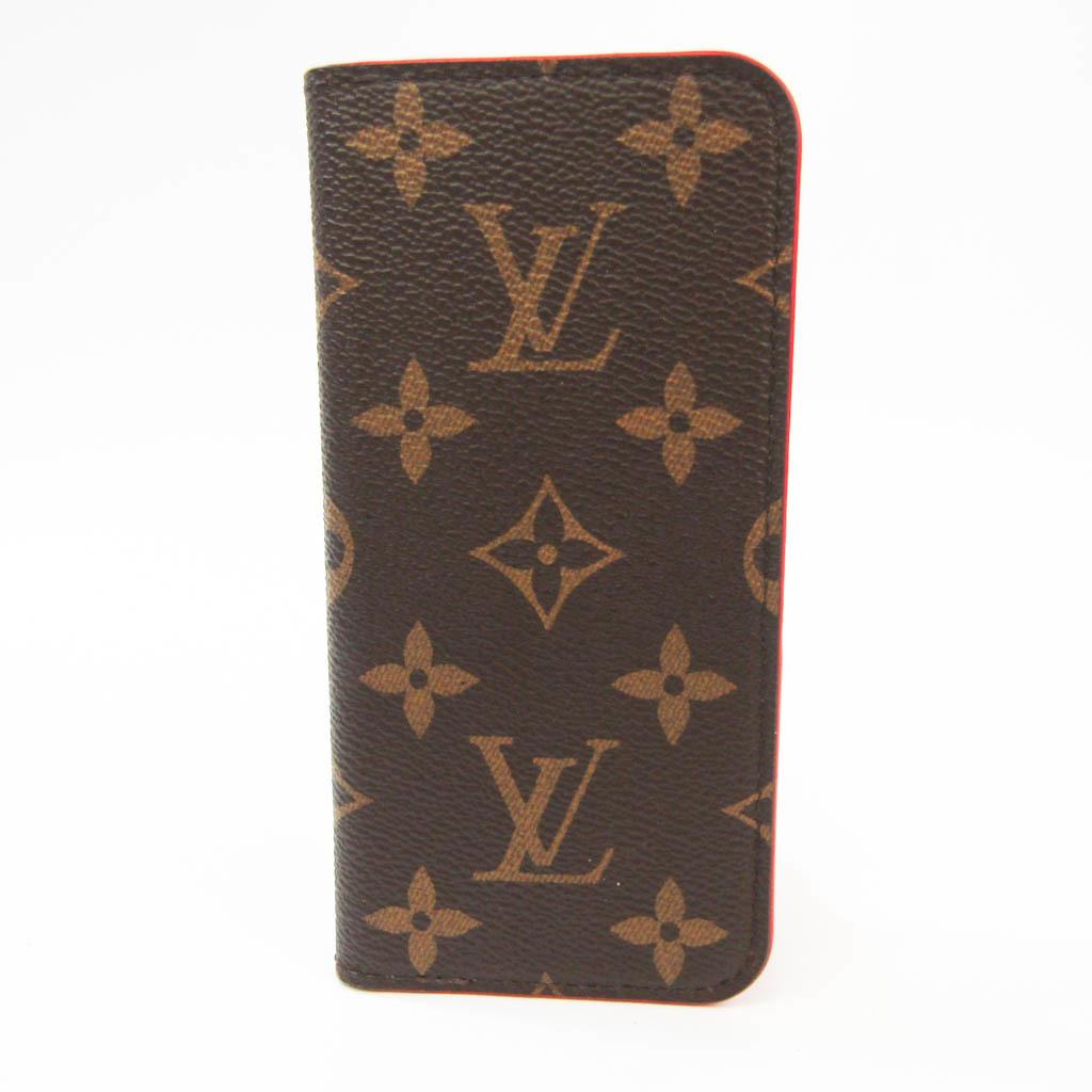 Louis Vuitton Monogram Monogram Phone Flip Case For IPhone 7 Rouge iPhone 7 Folio M61907