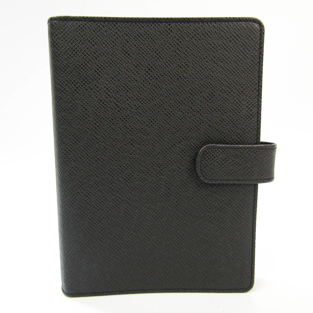 Louis Vuitton Taiga Bible Size Planner Cover Ardoise Agenda MM R20222