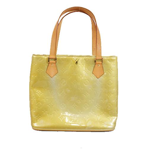 Auth Louis Vuitton Monogram Vernis M91053 Women's Handbag,Shoulder Bag,Tote Bag Gris