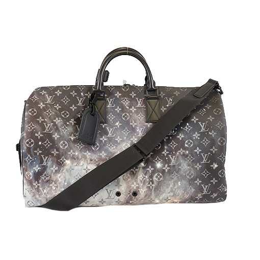 Auth Louis Vuitton Keepall Bandouliere 50 M44166 Men's Boston Bag